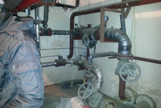 Прокладка стальной трубы методом горизонтального бурения (d 160 мм длиной 16 м), г. Казань, между жилыми домами на ул. Амирхана