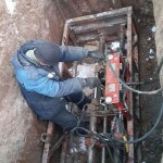 Выполнение очередных проколов на объекте «Индустриальный парк М7» - прокладка кабельной канализации связи